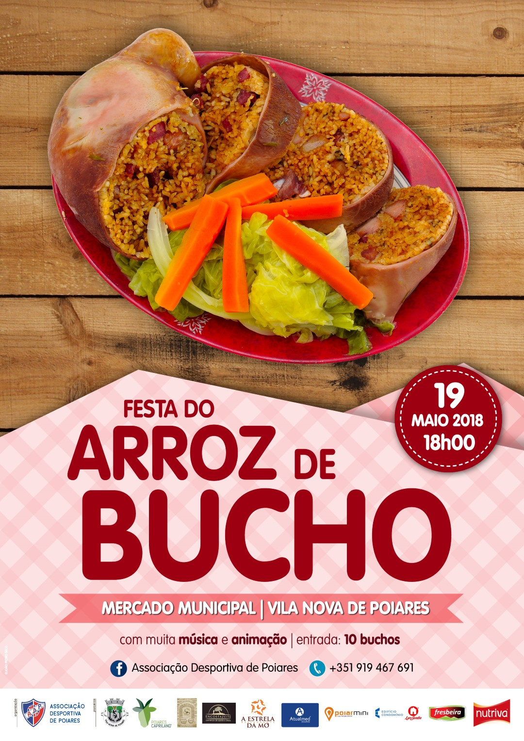 Cartaz Arroz de Bucho
